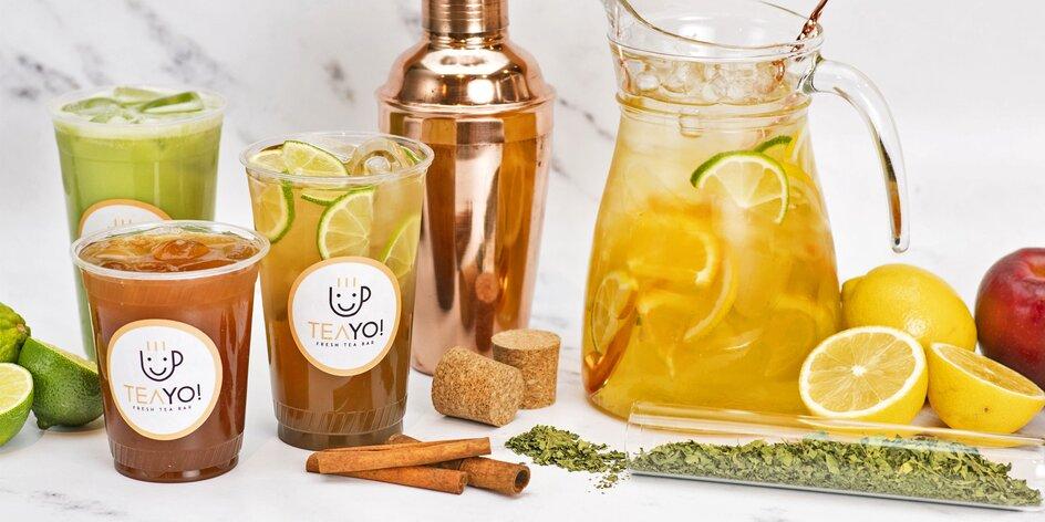 Zdravý, fair trade čaj ve Stromovce pro 1 i 2