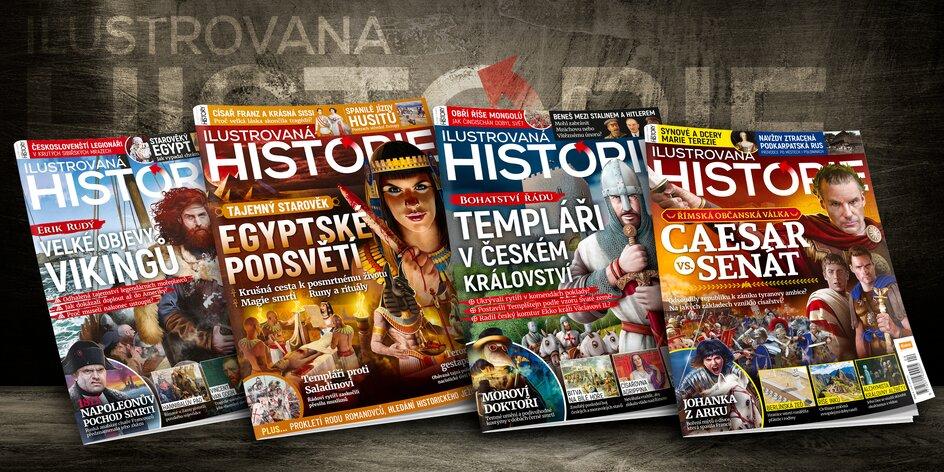Předplatné magazínu Ilustrovaná historie