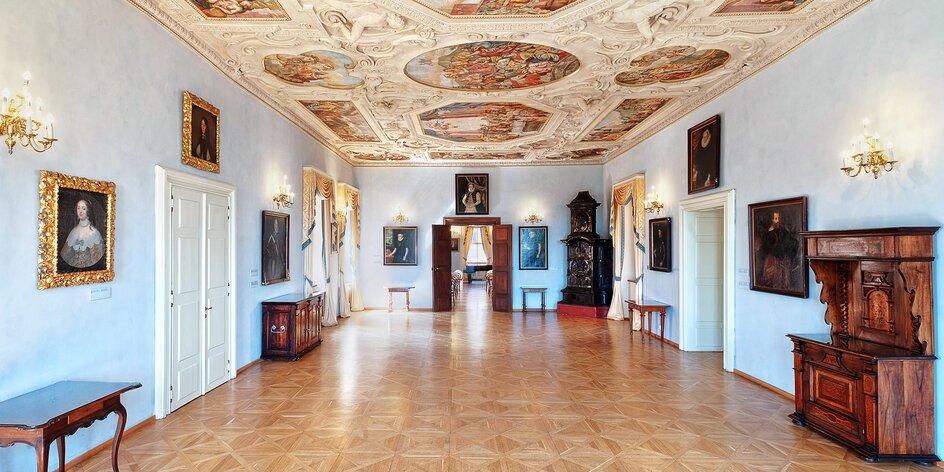 Vstup do úchvatného Lobkowiczkého paláce až pro 2
