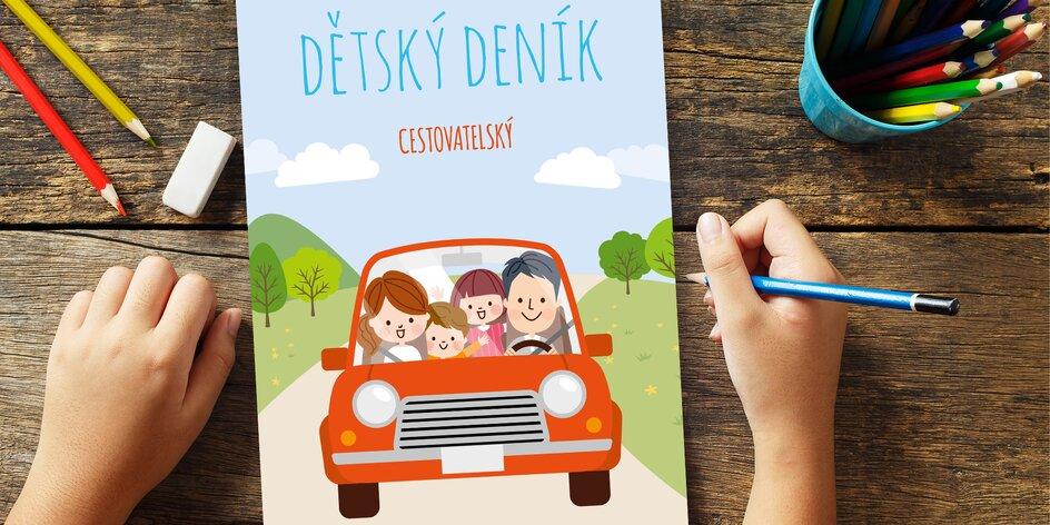 S dětmi doma? Stáhněte jim deníky plné zábavných úkolů a luštění
