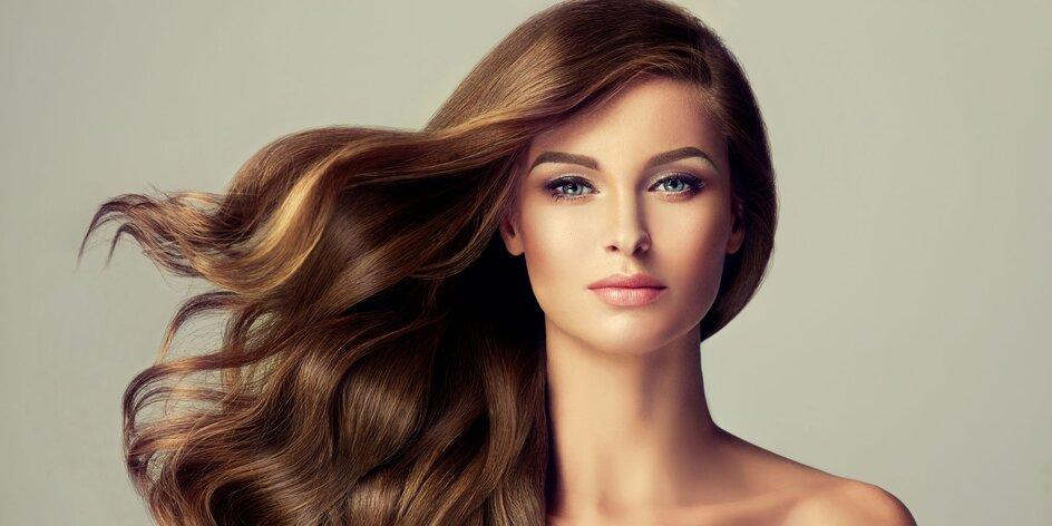 Melír či balayage pro polodlouhé a dlouhé vlasy