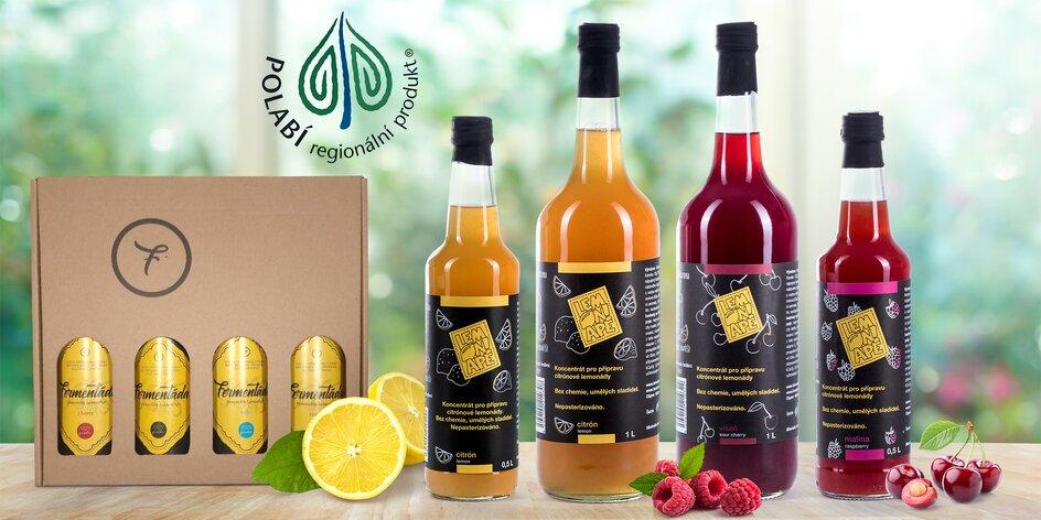 Osvěžte se s LemonApe: zdravé limonády a fermentády