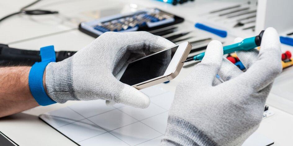 Profesionální čištění mobilu nebo tabletu