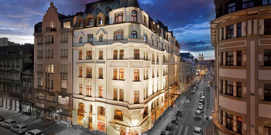 Luxusní hotel u Václavského náměstí se snídaní