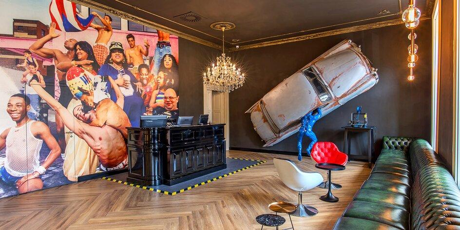 Praha jinak!: designový hotel pár kroků od nádraží