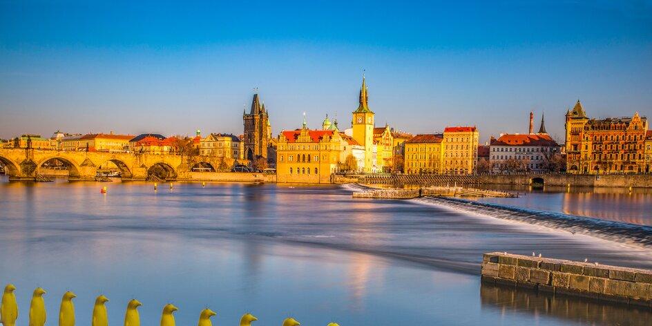 Praha: pobyt se snídaní v moderním hotelu