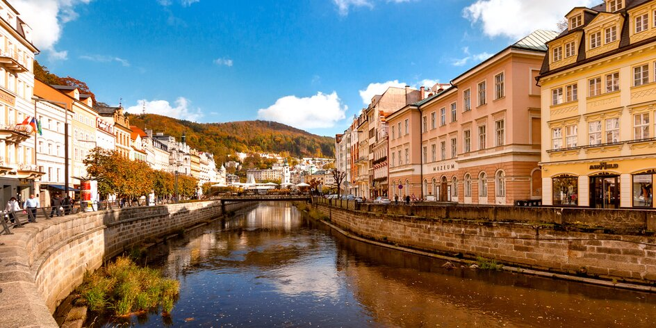 Karlovy Vary: pobyt v apartmá pro rodiny i páry
