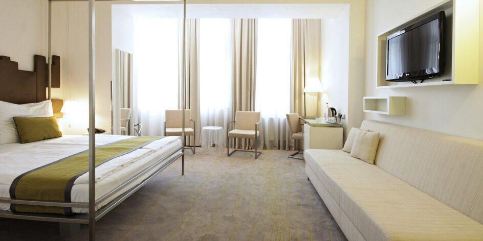 Pobyt v moderním hotelu na Novém Městě se snídaní