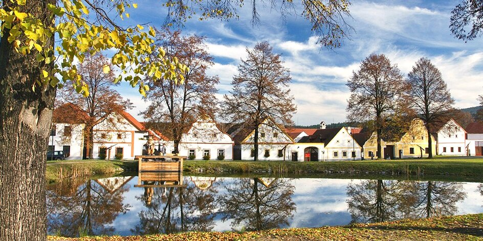 Malebné jižní Čechy se snídaní a kávou