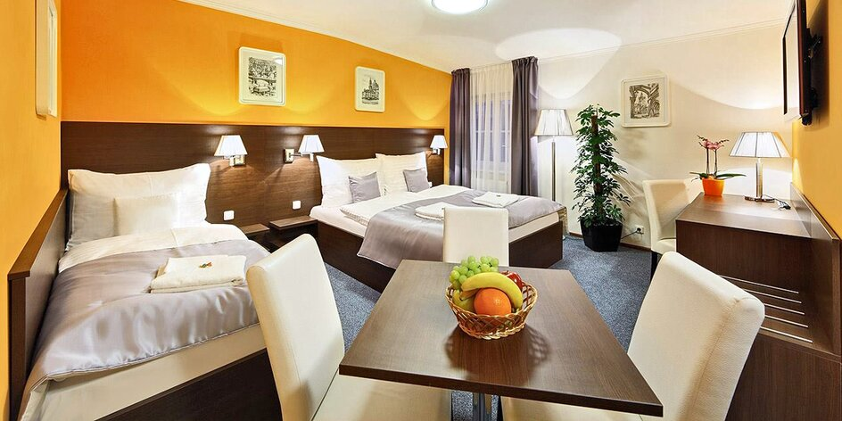 Pobyt se snídaní ve 4* hotelu v Praze na Smíchově