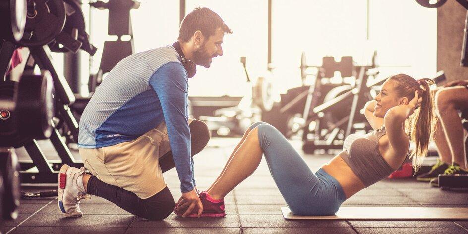 8 lekcí s fitness trenérem a stravovací plán na míru