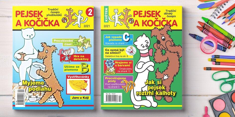 Roční předplatné časopisu Pejsek a kočička