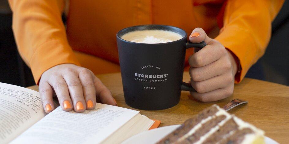 50% sleva na Starbucks merch a k nákupu nápoj zdarma