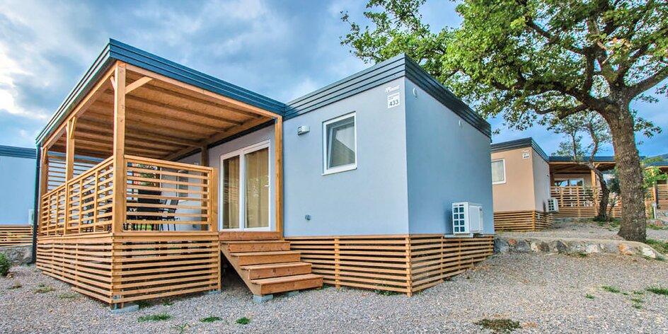 Selce: mobilní domy s terasou i venkovními bazény