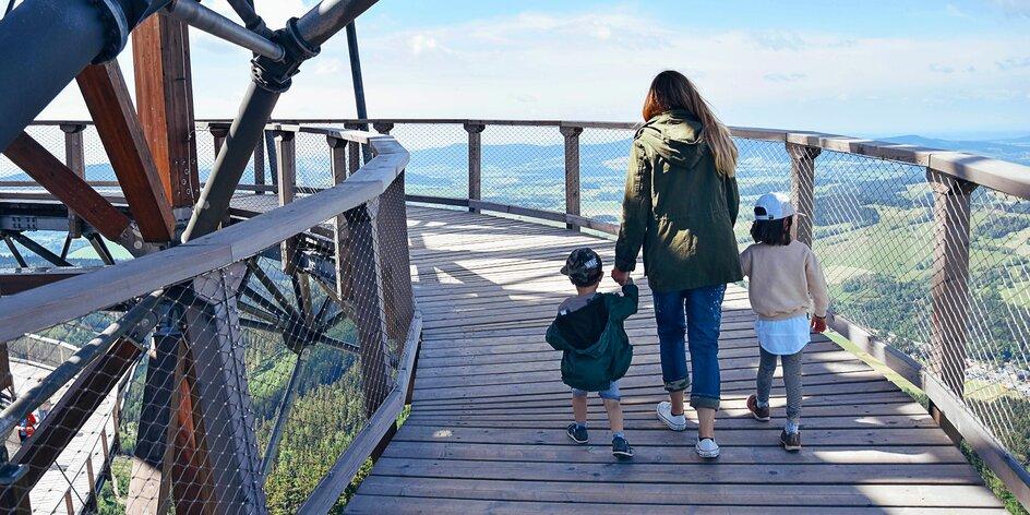 Stezky korunami stromů: 7 tipů, ze kterých budete na větvi vy i vaše děti