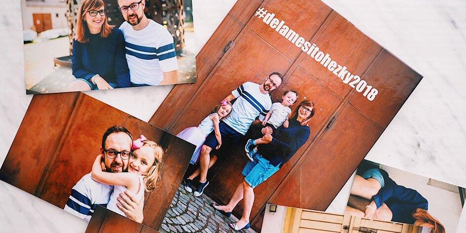 Fotodárky letí! Mama blogerka si vyrobila kalendář, obraz a knihu z rodinných fotek