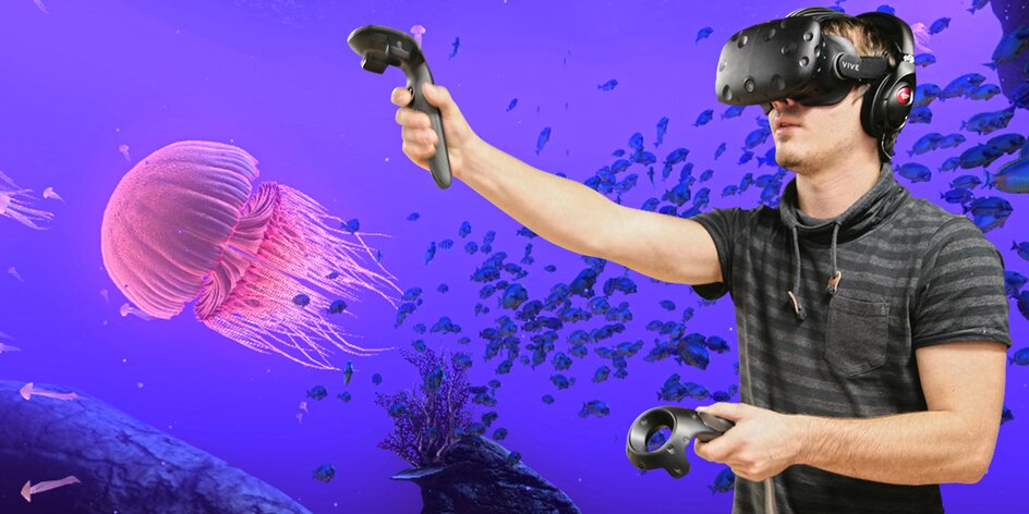 Hodina dobrodružství a her ve virtuální realitě