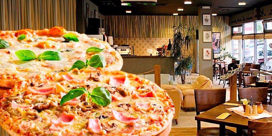 Dvě parádní pizzy z La Fonduta až domů