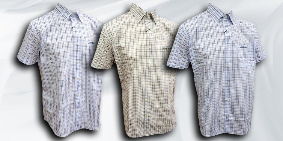 Sportovní košile s krátkým rukávem
