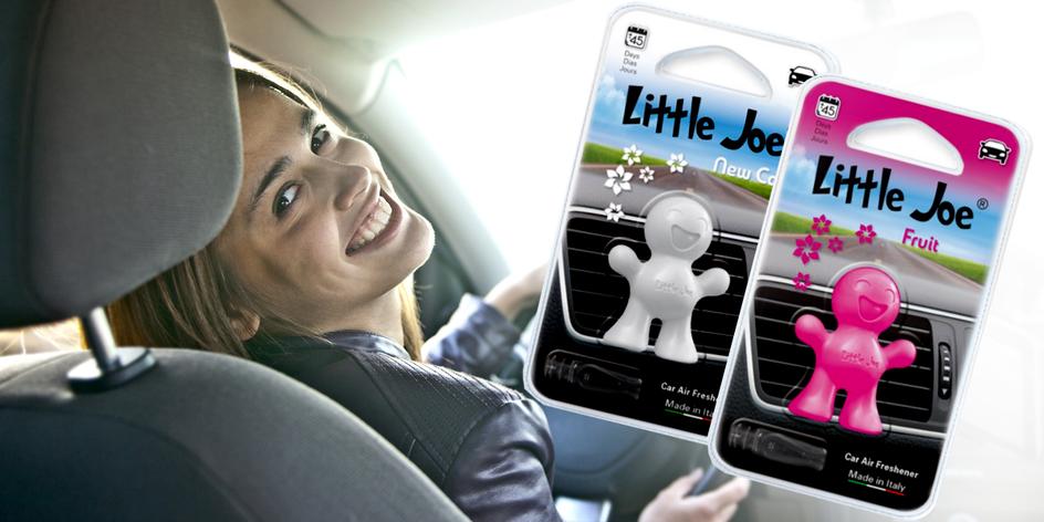 3D vůně do auta Little Joe ve čtyřech vůních
