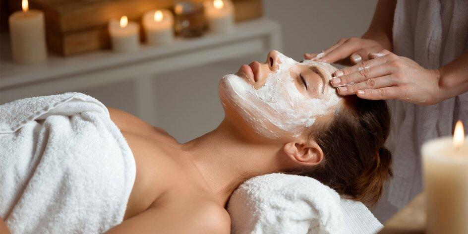 Kompletní ošetření obličeje, krku a dekoltu