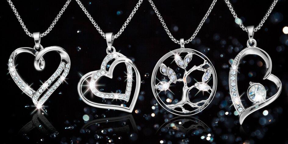 Elegantní šperky pro dámy Swarovski components
