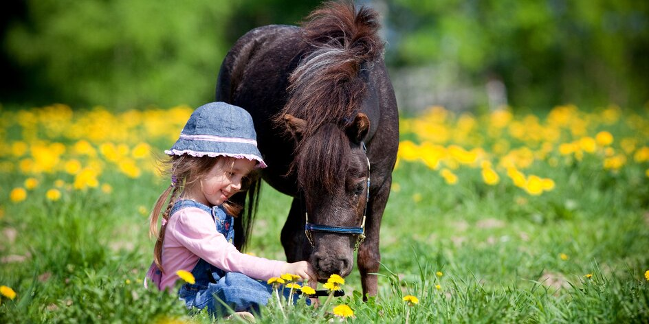 Rodinný pobyt se zvířátky na historickém ranči