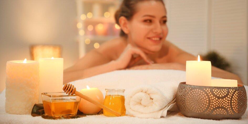 Medová, aroma či thajská masáž: až 120 min. blaha