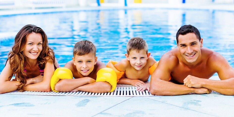Celodenní řádění ve Vodním světě pro 1 i rodinu
