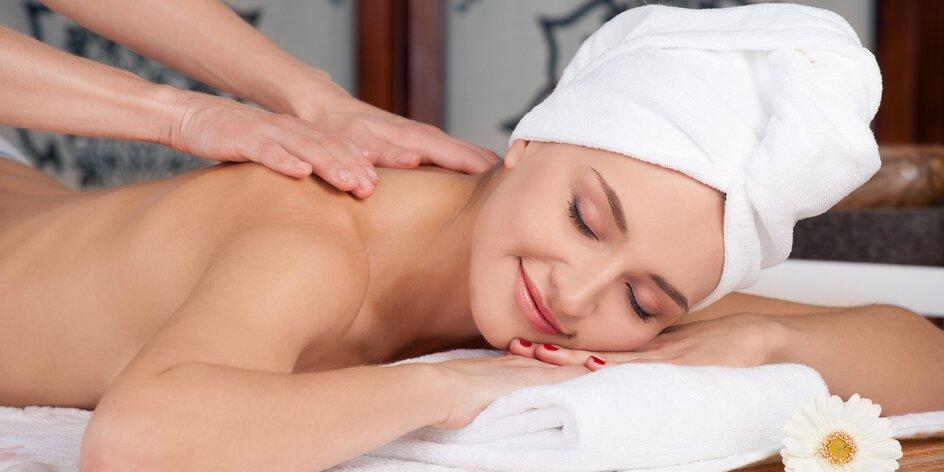1,5 nebo 2hodinová masáž vč. zábalu