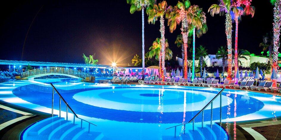 Turecko letecky: 4* hotel, all inclusive, bazény