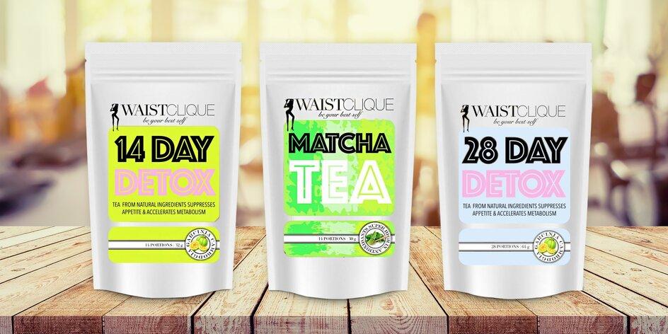 Jarní očista s detoxikačními a hubnoucími čaji