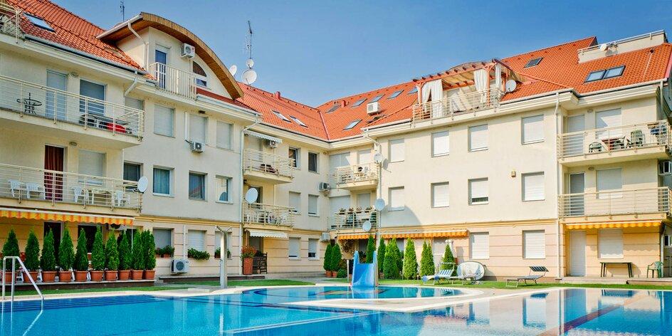 Pobyt v Maďarsku: 2–4 noci s polopenzí a wellness