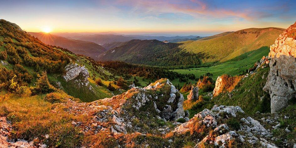 3–4 dny na Slovensku s chutnou polopenzí pro dva