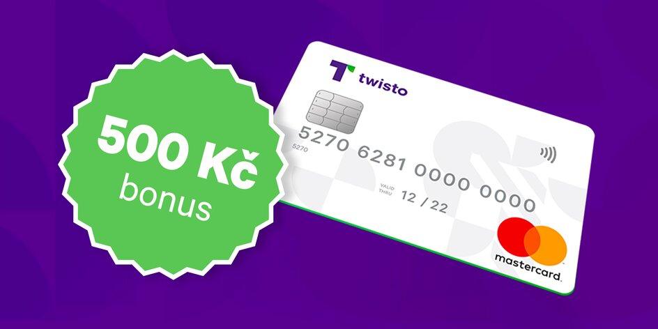 Získejte Twisto kartu a 500 Kč na nákupy
