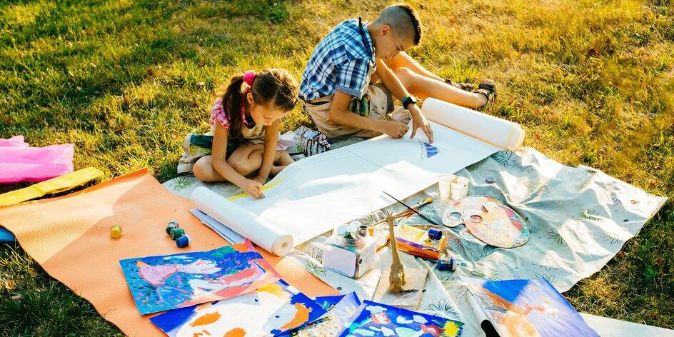 Příměstské tábory kresby a malby pro děti od 6 let