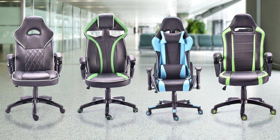Designové kancelářské židle s područkami