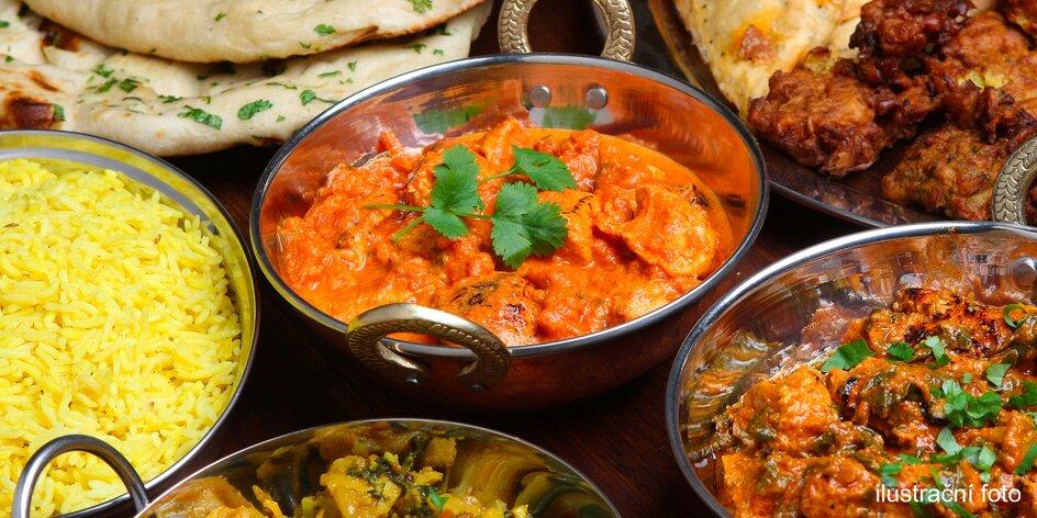 Poskládejte si bohaté indické menu pro 2