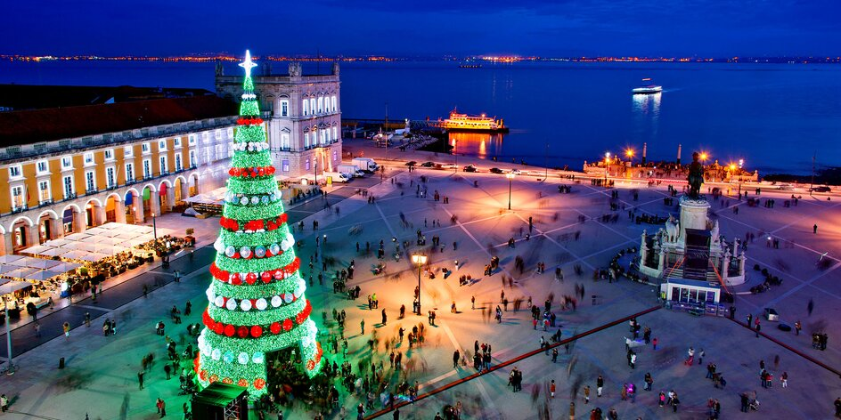 Advent v Lisabonu: letenka, 4* hotel a Sintra