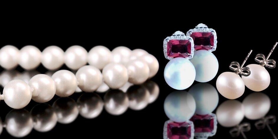 Šperky z pravých sladkovodních perel