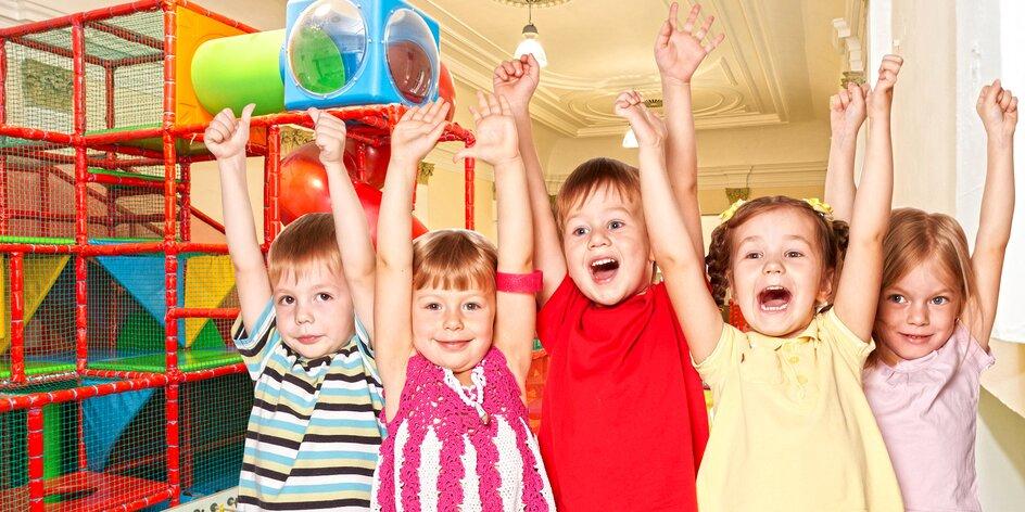Den plný zábavy: Vstup na dětské hřiště Bambino