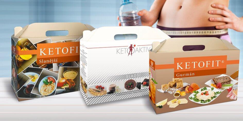 Proteinová dieta KETOFIT® a KETOAKTIV®