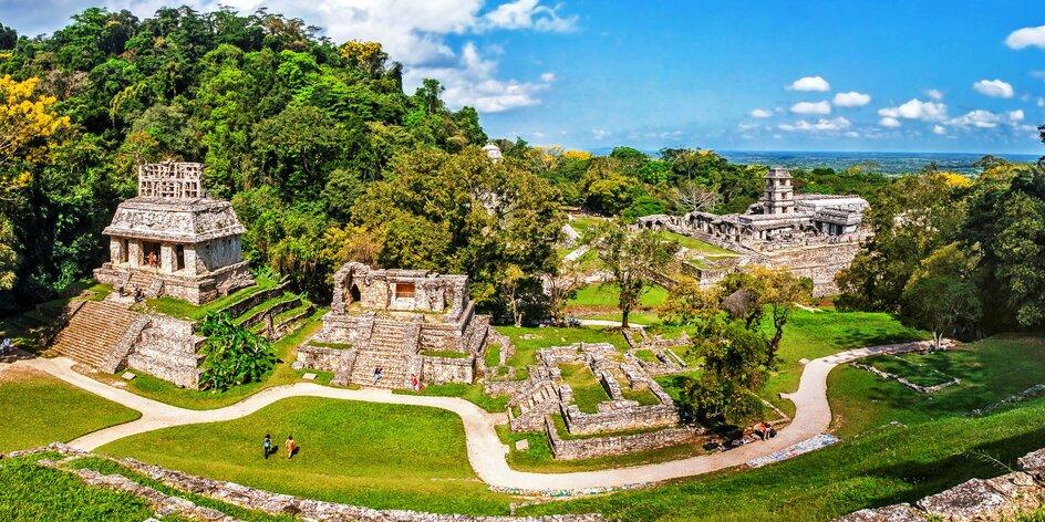 Záloha na zájezd do Mexika, Guatemaly a Belize
