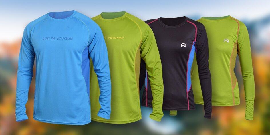Dámská a pánská outdoorová trička Northfinder