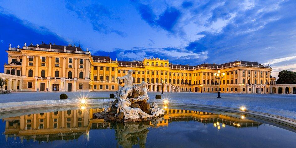 Vídeň: Pobyt ve 4* hotelu vedle Schönbrunnu