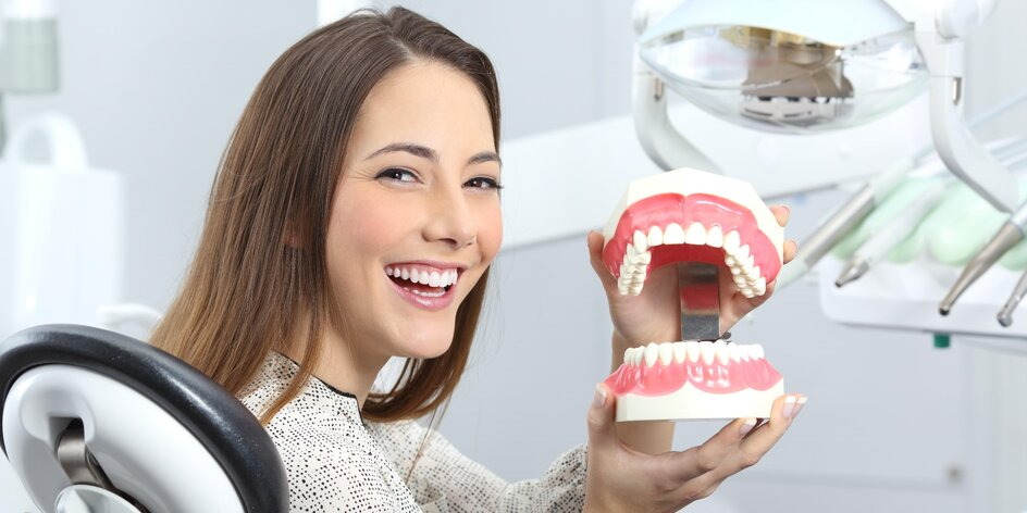 Dentální hygiena a pískování v ordinaci my DENT