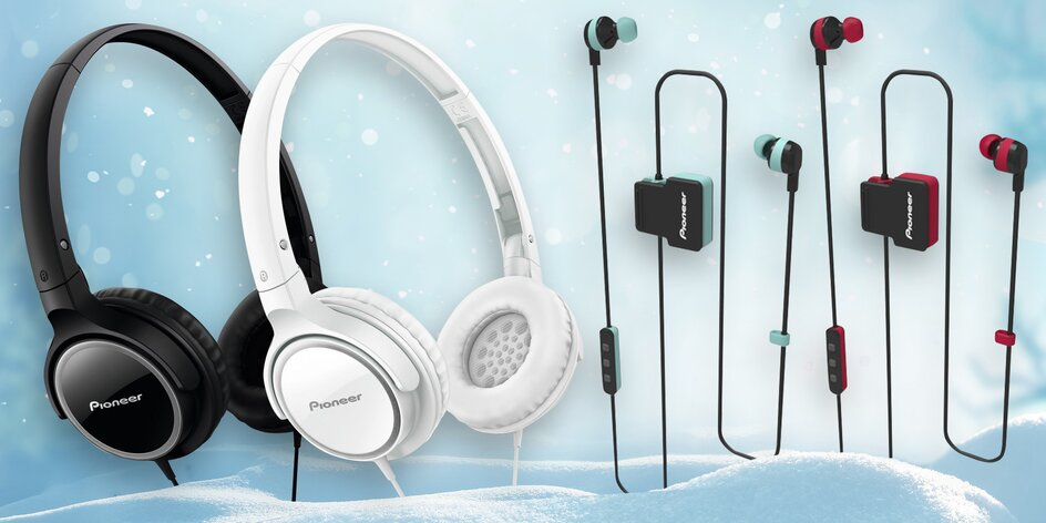 Sluchátka Pioneer: pecky, bluetooth i přes uši
