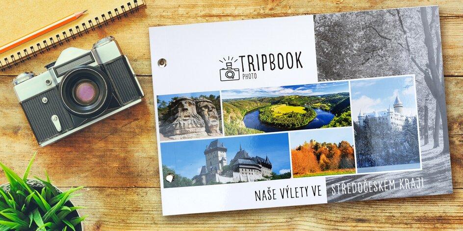 TripBook: originální fotoalbum z výletů v Čechách