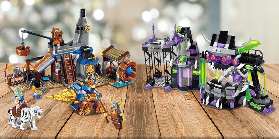Balíčky stavebnice Brick kompatibilní s LEGO®