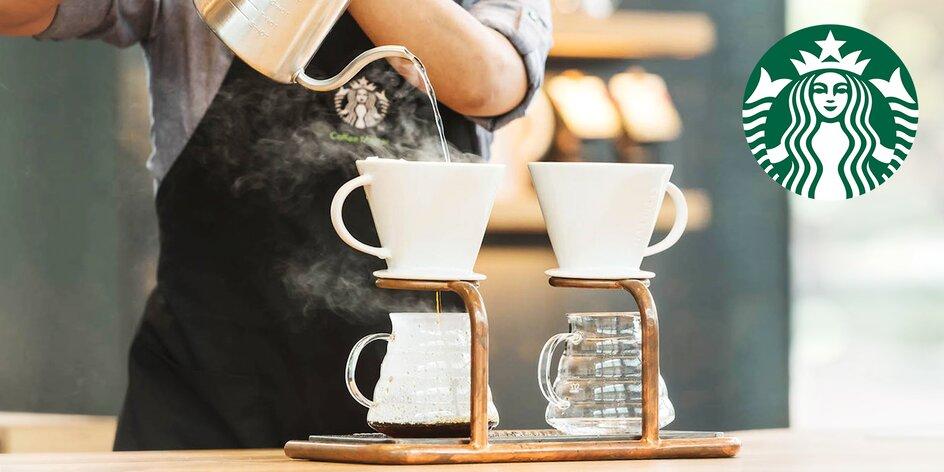 Coffee tasting ve Starbucks a balíček kávy domů